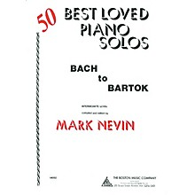 Music Sales 50 Best Loved Solos (Bach to Bartok) Music Sales America Series Softcover