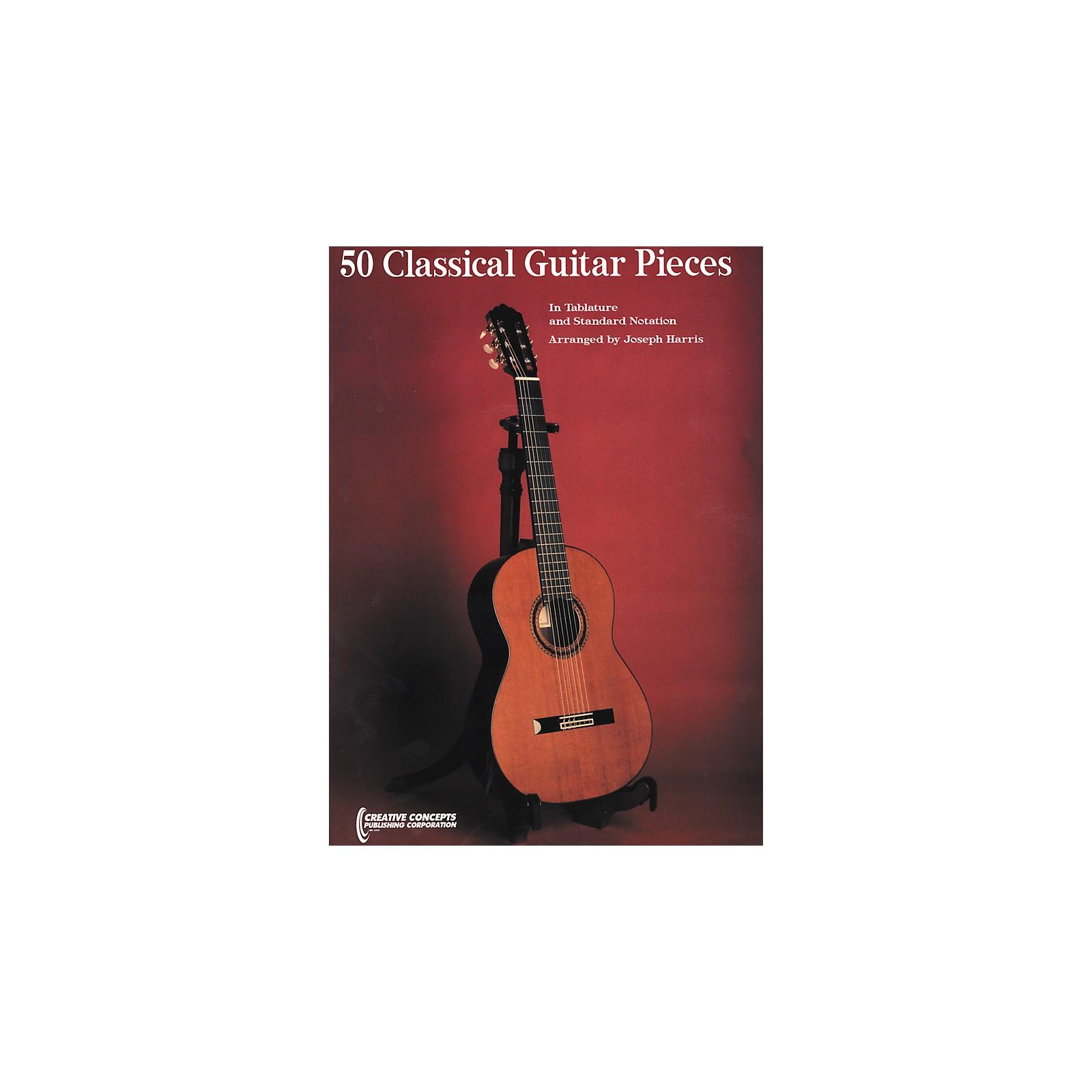 Creative Concepts 50 Classical Guitar Pieces Book