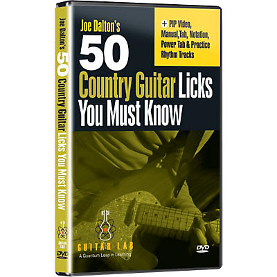 eMedia 50 Country Guitar Licks You Must Know! (DVD)