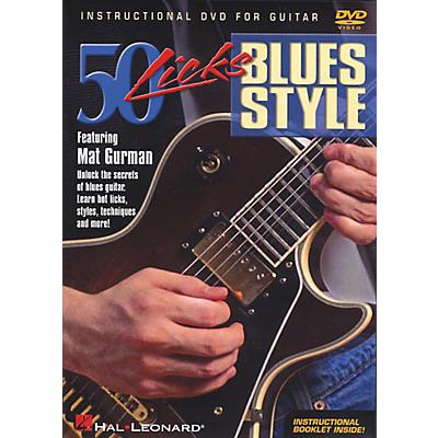 Hal Leonard 50 Licks Blues Style (DVD)