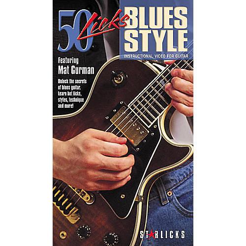 Hal Leonard 50 Licks Blues Style Video