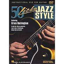 Hal Leonard 50 Licks Jazz Style DVD