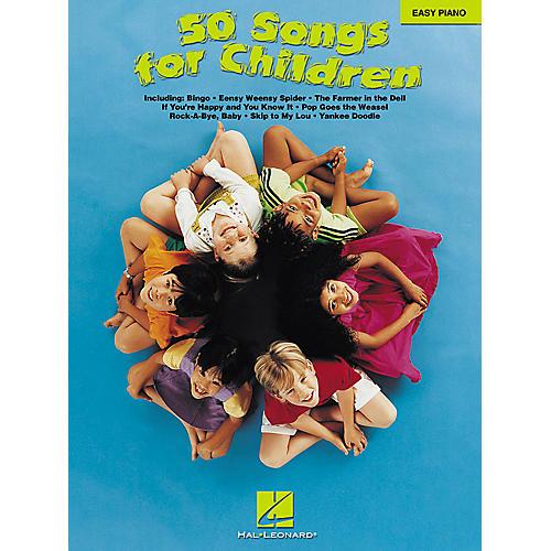 Hal Leonard 50 Songs For Children For Easy Piano