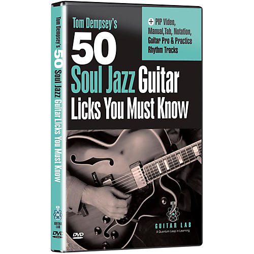 eMedia 50 Soul Jazz Licks You Must Know DVD