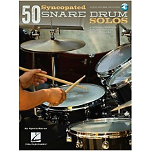 Hal Leonard 50 Syncopated Snare Drum Solos - A Modern Approach For Jazz, Pop & Rock Drummers Book/Online Audio