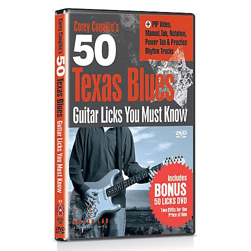Emedia 50 Texas Blues Licks You Must Know DVD with Bonus DVD