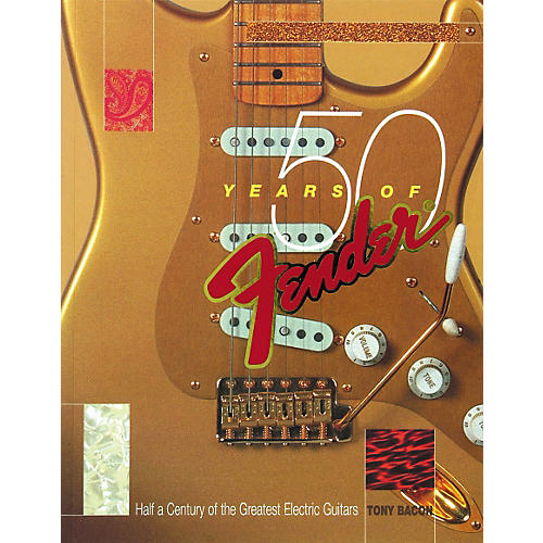 Backbeat Books 50 Years of Fender Book