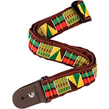 D'Addario Planet Waves 50 mm Nylon Guitar Strap, African Weave