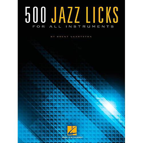 Hal Leonard 500 Jazz Licks For All Instruments