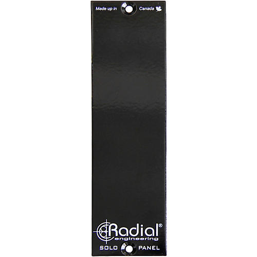 Radial Engineering 500 Series 1 Slot Filler Panel