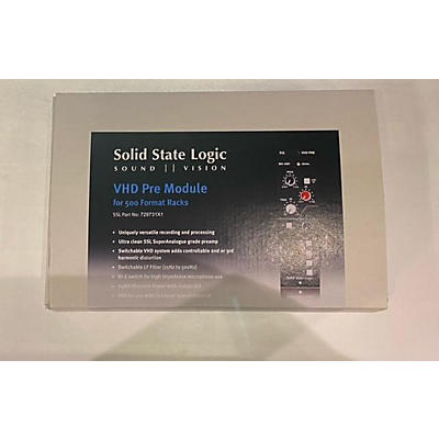 Solid State Logic 500 VHD MIC PREAMP Microphone Preamp
