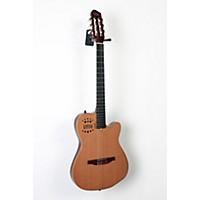 Used Godin Acs-Sa Slim Nylon String Cedar Top Acoustic-Electric Guitar Semi-Gloss Natural 190839027054
