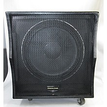 American Audio 500w Subwoofer Powered Subwoofer