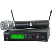 Shure Slx24/Sm86 Wireless Microphone System Ch G4
