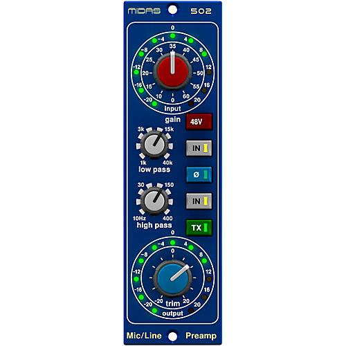 Midas 502 Microphone Preamp