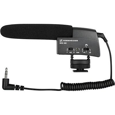 Sennheiser 502047 MKE400 Camcorder Shotgun Mic