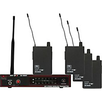 Galaxy Audio As-900-4 Band Pack Wireless System N4