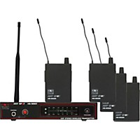 Galaxy Audio As-900-4 Band Pack Wireless System Freq N9
