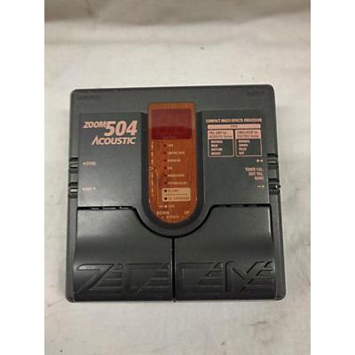 Zoom 504 Acoustic FX Effect Processor