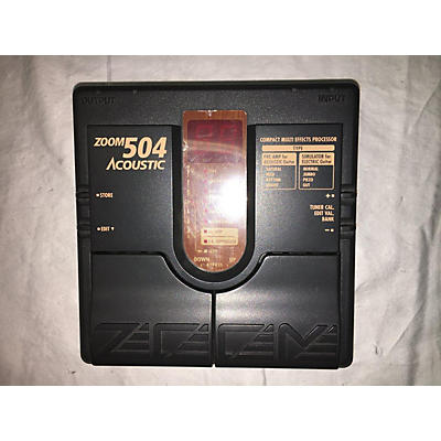 Zoom 504 Acoustic Multi Effects Processor