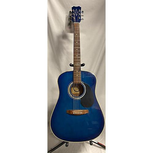Alvarez 5044TBL Acoustic Guitar Blue