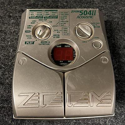Zoom 504II Acoustic Effect Processor