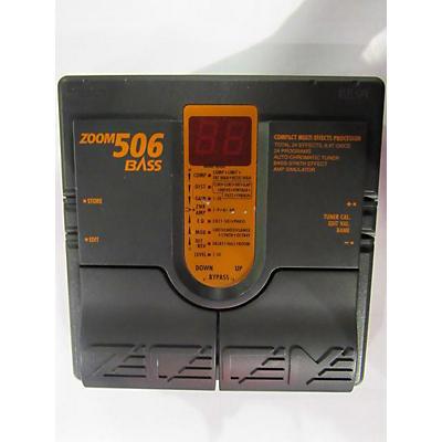 Zoom 506 Bass Pedal Bass Effect Pedal