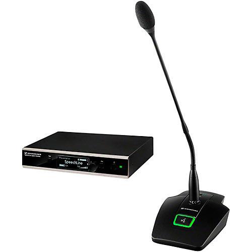 Sennheiser 506631 SL TS 133 GN SET DW-4 US SpeechLine Digital Wireless Table Mic Set