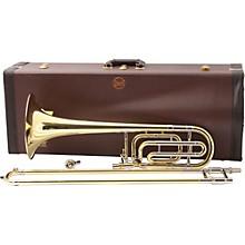 50B Series Professional Bass Trombone 50B Yellow Brass Bell Standard Wrap