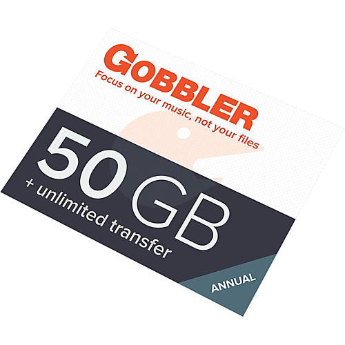 Gobbler 50GB Annual Plan Software Download