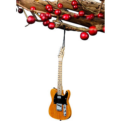 Axe Heaven 50's Blonde Tele 6 Inch Holiday Ornament