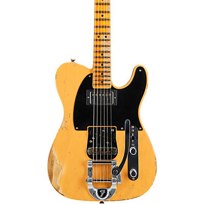 Fender Custom Shop 50s Vibra Telecaster Heavy Relic Maple Fingerboard Limited Edition Electric Guitar
