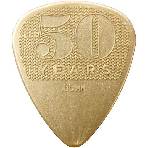 Dunlop 50th Anniversary Nylon Pick, .60mm (32-Pack)