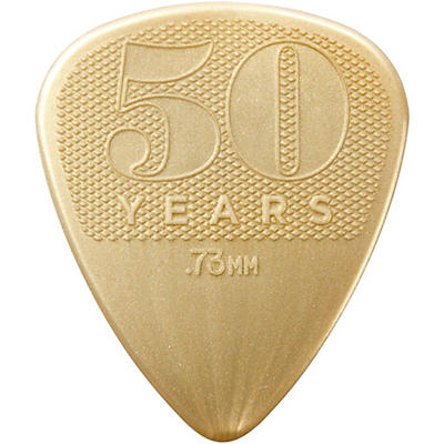 Dunlop 50th Anniversary Nylon Pick, .73mm (12-Pack)