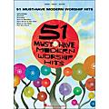 Hal Leonard 51 Must-Have Modern Worship Hits arranged for piano, vocal, and guitar (P/V/G) thumbnail