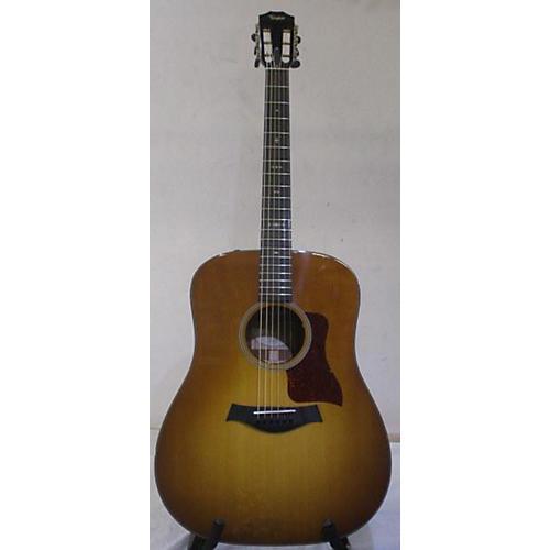 Taylor 510E Acoustic Electric Guitar Honey Burst