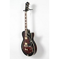Used Ibanez Artcore Expressionist Ag95 Hollowbody Electric Guitar Dark Brown Sunburst 190839015105
