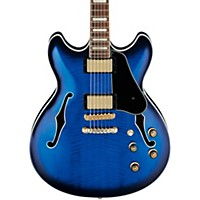 Ibanez Artcore As93 Electric Guitar Blue Sunburst