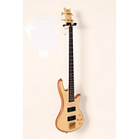 Used Schecter Guitar Research Stiletto Custom-4 Bass Satin Natural 888365938004