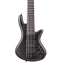 Schecter Guitar Research Stiletto Studio 6 Bass In Black Satin