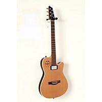 Used Godin A6 Ultra Semi-Gloss Semi-Acoustic-Electric Guitar Natural Cedar 190839051981