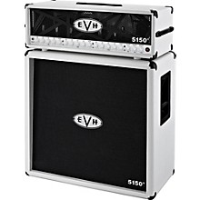 EVH 5150 III 100W Guitar Tube Head Ivory with 5150 III 412 Guitar Cab Ivory
