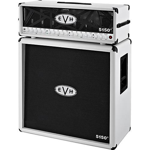 EVH 5150 III Head and 4x12 Half Stack Ivory