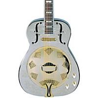 Dean Chrome G Acoustic-Electric Resonator Guitar Chrome/Gold