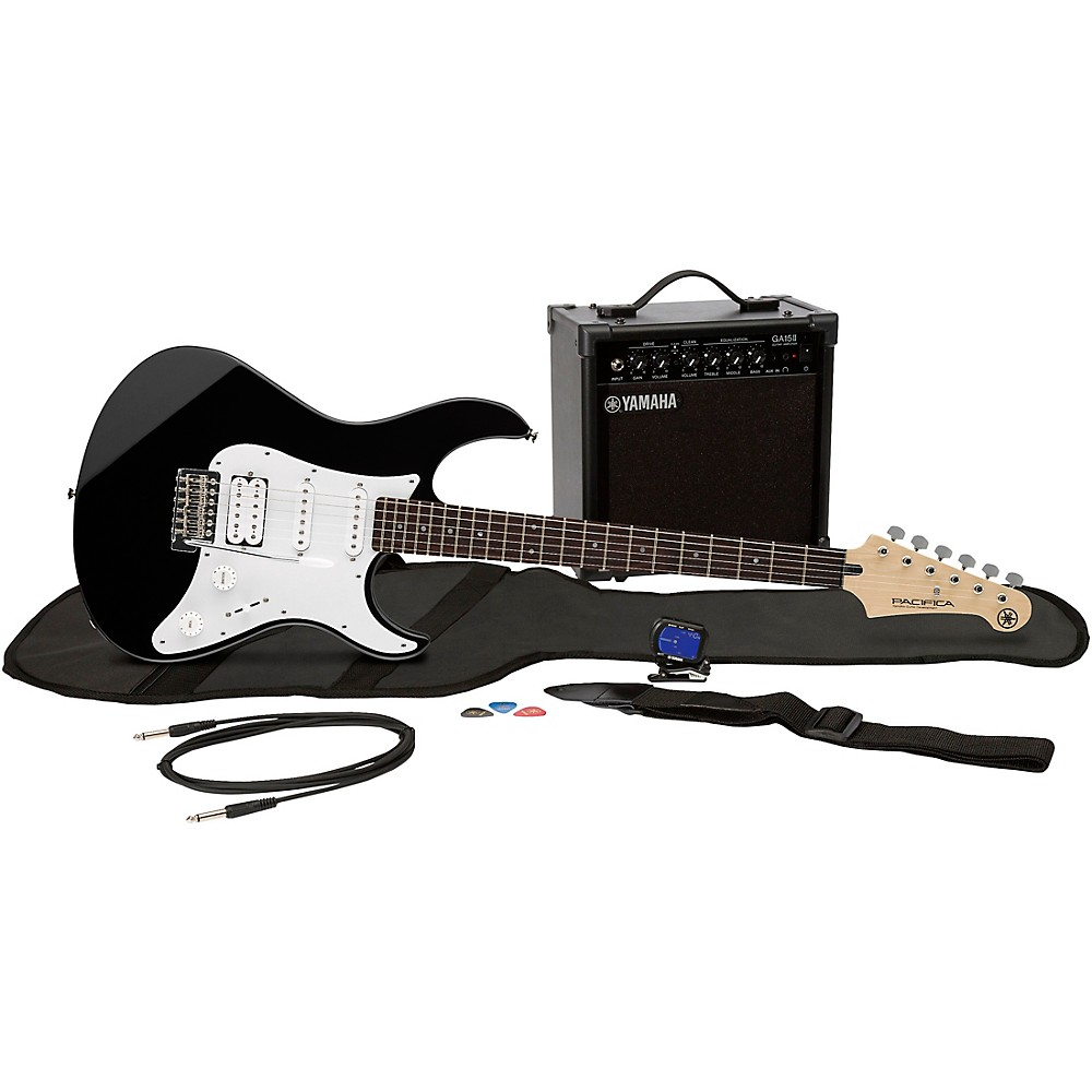 Yamaha Electric Guitar Starter Kit Ask Answer Wiring Diagram Pacifica 012 Gigmaker Eg Pack Black 86792287799 Ebay Rh Com Blue Jackson