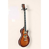 Used Esp Ltd Deluxe Ec-1000 Electric Guitar Amber Sunburst 888365960098