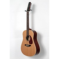 Used Seagull Coastline Series S12 Dreadnought 12-String Qi Acoustic-Electric Guitar Natural 190839032379