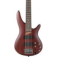 Ibanez Sr505 5 String Electric Bass Guitar Brown Mahogany