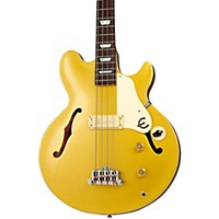Epiphone Jack Casady Signature Bass Guitar Metallic Gold