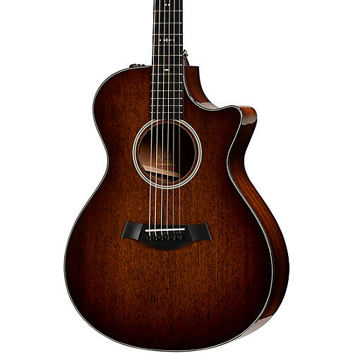 Taylor 522ce V-Class Grand Concert Acoustic-Electric Guitar Shaded Edge Burst